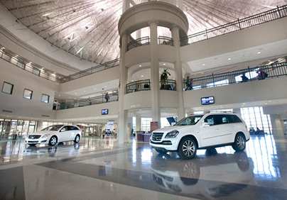 Attractions tuscaloosa county alabama for Mercedes benz usa factory