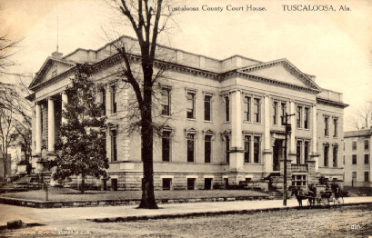 Tuscaloosa County Courthouse, early 1900s