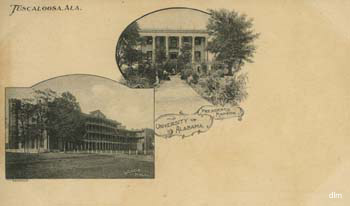 President's Manison and Woods Hall