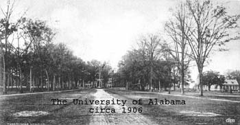 University of Alabama Quad, 1906