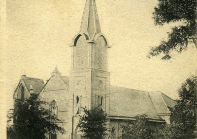 First Baptist Church, circa 1906