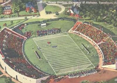 Denny Stadium, 1940s