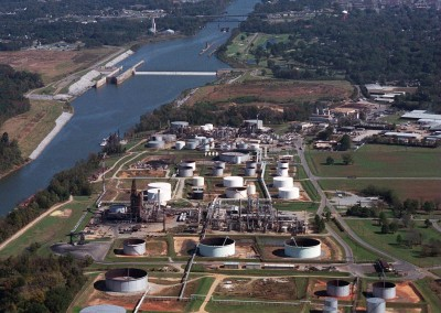 Hunt Refinery on the Black Warrior River