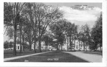 University Quad, circa 1930
