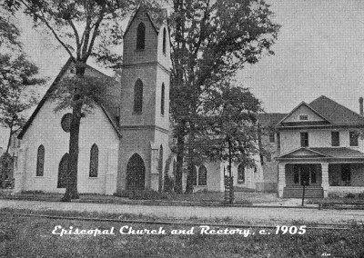 Episcopal Church and Rectory, circa 1905