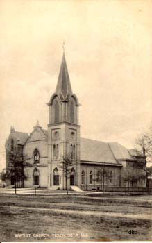 First Baptist Church, early 1900s