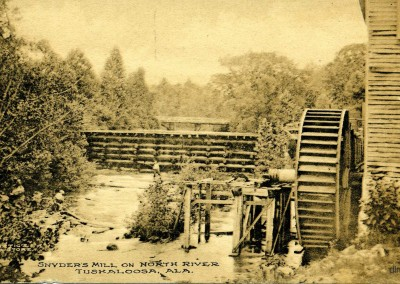 Snyder's Mill, North River, Tuskaloosa