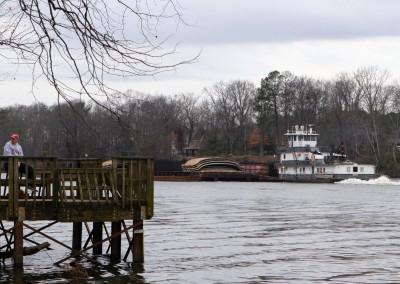 Tug Boat on the Black Warrior River