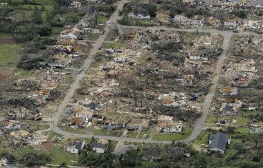 Tuscaloosa Tornado Damage, 2011