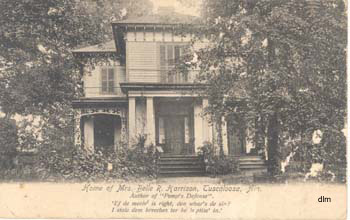 Home of Mrs. Belle Harrison